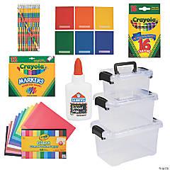 Homeschool Storage & Supplies Kit