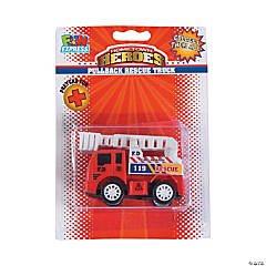 Hometown Heros™ Fire Truck Pull-Back Toys