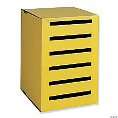 "Homework Collector, Yellow, 17.94""H x 12.19""W x 13.69""D"
