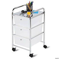 Honey Can Do 3 Drawer Rolling Storage Cart