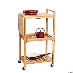 Honey Can Do Bamboo Kitchen Cart