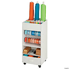 Honey Can Do Craft Storage Cart with Fabric Drawer