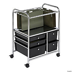 Honey Can Do Rolling File Cart with Five Drawers