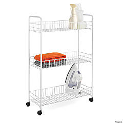 Honey Can Do Rolling Household Cart - 3-Tiers