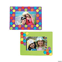 Honeycomb Picture Frame Magnet Craft Kit
