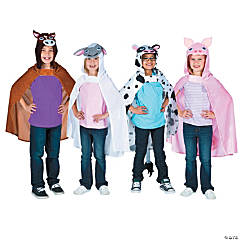 Hooded Farm Animal Capes