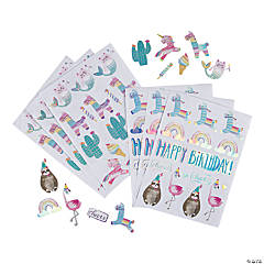 Hooray It's Your Birthday Stickers