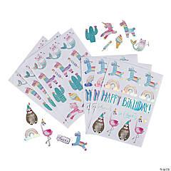 Hooray It's Your Birthday Stickers