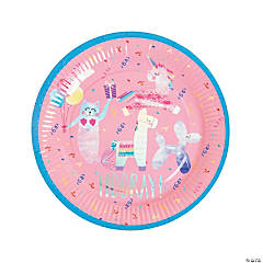 Hooray It's Your Birthday Paper Dinner Plates - 8 Ct.