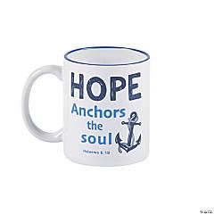 Hope Anchors My Soul Ceramic Mug