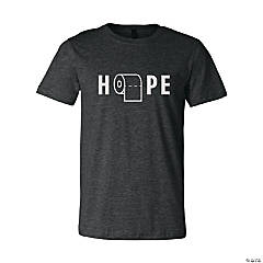 Hope for Toilet Paper Adult's T-Shirt - Medium