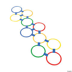 Hopscotch Connecting Ring Game