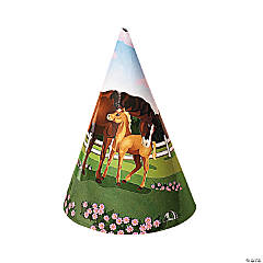 Horse Party Cone Hats