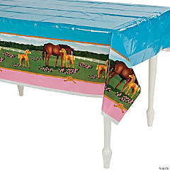Horse Party Tablecloth