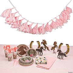 Horse Party Tableware Kit for 24 Guests