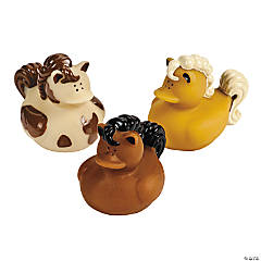 Horse Rubber Duckies