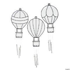 Hot Air Balloon Suncatcher Wind Chimes