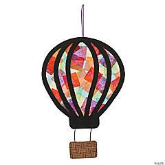 Hot Air Balloon Tissue Paper Craft Kit