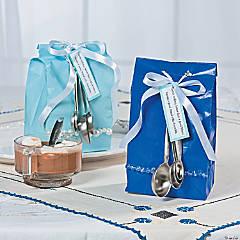 Hot Chocolate Favor Bag Idea