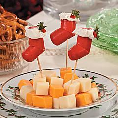 Hot Dog Stocking Christmas Appetizers Recipe