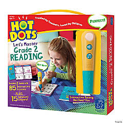 Hot Dots® Jr Let's Master Grade 1 Reading