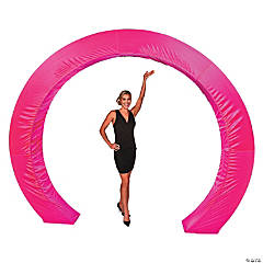 Hot Pink Circle Arch Slip