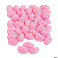 Hot Pink Strawberry Jelly Beans Candy
