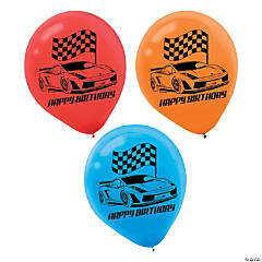 "Hot Wheels® 12"" Latex Balloons"