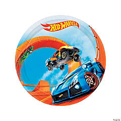 Hot Wheels® Wild Racer Round Paper Dessert Plates - 8 Ct.