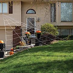 House Spider Web Halloween Decoration