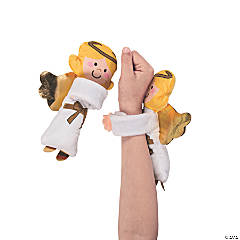Hugging Plush Angel Slap Bracelets