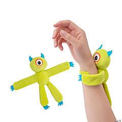 Hugging Plush Fuzzy Monster Slap Bracelets