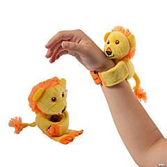 Hugging Stuffed Lion Slap Bracelets