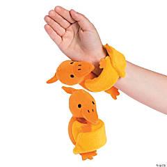 Hugging Stuffed Pterodactyl Slap Bracelets
