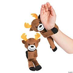 Hugging Stuffed Reindeer Bracelets