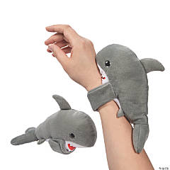 Hugging Stuffed Shark Slap Bracelets