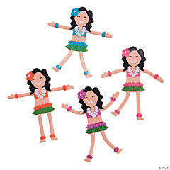 Hula Girl Bendables