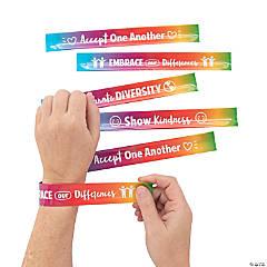 Humankind & Diversity Slap Bracelets