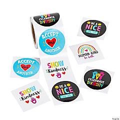 Humankind & Diversity Stickers