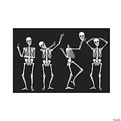 Humorous Skeletons Backdrop Halloween Decoration