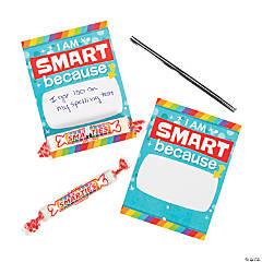 I Am Smart! Teacher Reward Cards with Smarties® Hard Candy Rolls