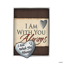 I Am With You Always Pocket Token