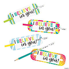 I Believe in You Pencils with Card - 24 Pc.
