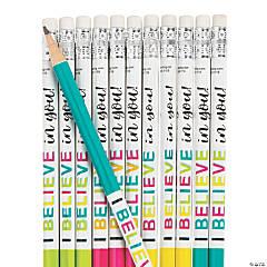 I Believe in You Pencils