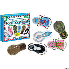 I Can Tie My Shoes! Lacing Card Set