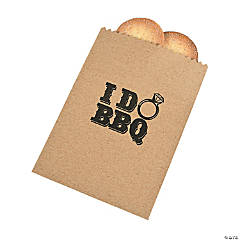 I Do BBQ Treat Bags