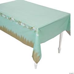 I Do Mint Plastic Tablecloth