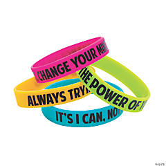 I Have A Growth Mindset Bracelets