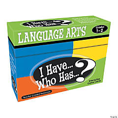 I Have Who Has Language Arts Grades 1-2