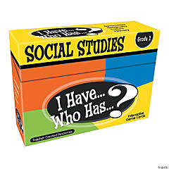 I Have Who Has Social Studies 2nd Grade